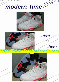 Cheap Jordans 6 White Infrared Michael First Pair Of Championship Boots These High End Balloon Shoes Have Many Fans This Re Engraved Version
